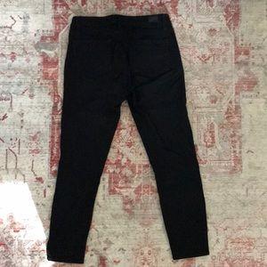Anthropologie Paige Verdugo Crop Jean in Black